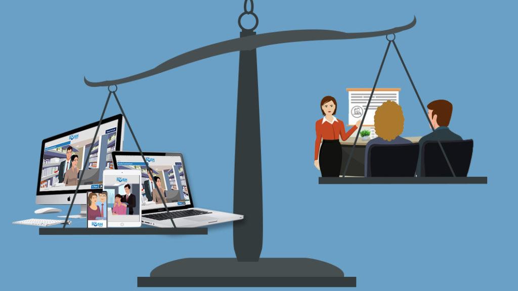 Classroom vs Online training