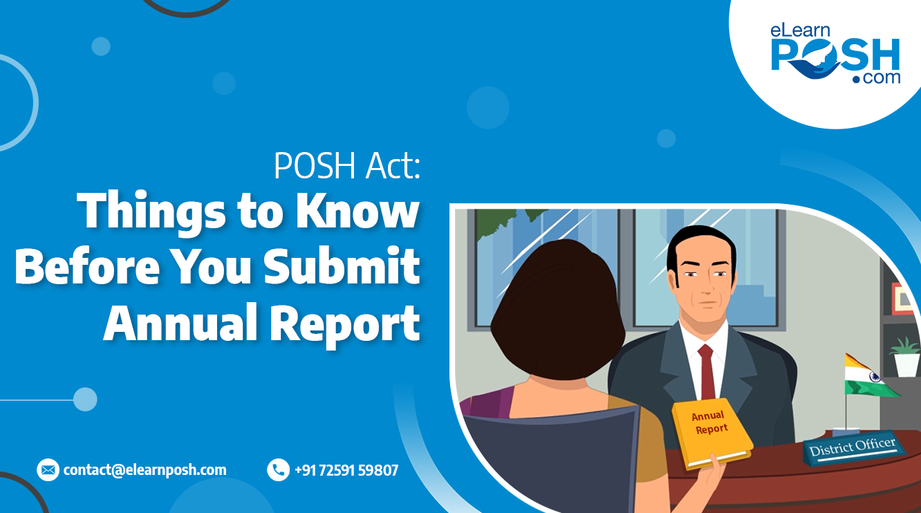 PoSH Act, 2013: Things to Know Before You Submit Annual Report