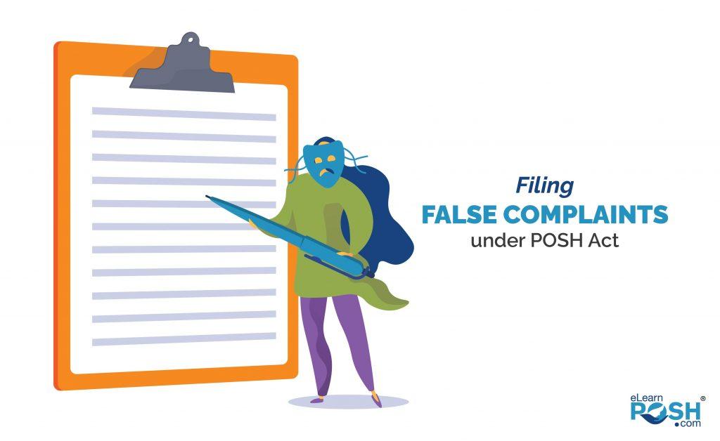 Filing False Complaints under POSH Act-01